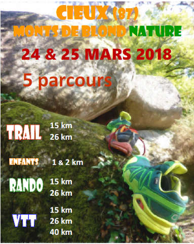 Affiche Monts de Blond Nature